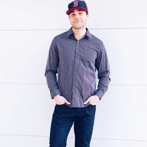 Michael Kors Striped Dress Shirt